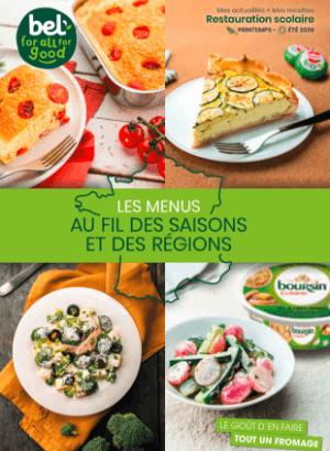 BelFoodservice Brochure Au fils des saisons et des régions - Scolaire - 2020