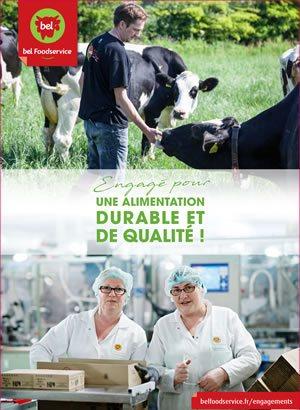 BelFoodservice Brochure Engagé pour une alimentation durable et de qualité