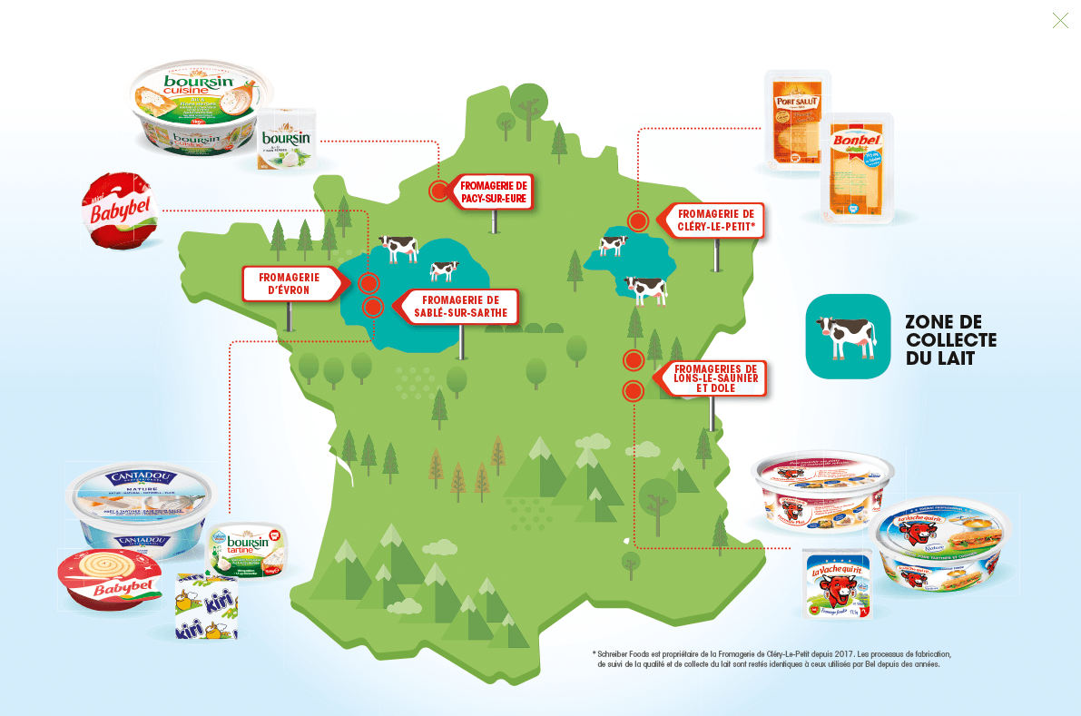 Fromageries 100% françaises