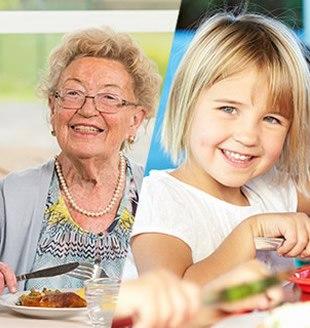 Contribuer à l'équilibre nutritionnel des populations les plus sensibles - Bel Foodservice