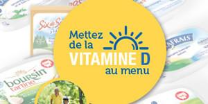 Bel Foodservice augmente la teneur en vitamine D de ses portions