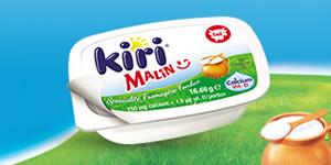Kiri® Malin : 100% pratique en microbarquette !