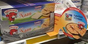 Conseil : implanter La Vache qui rit® Cheese Naan en rayon