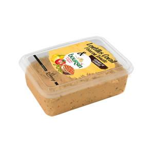 Boursin® à tartiner & à dipper Lentilles corail, poivron, tomate & graines de courges