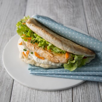 Sandwich escalope