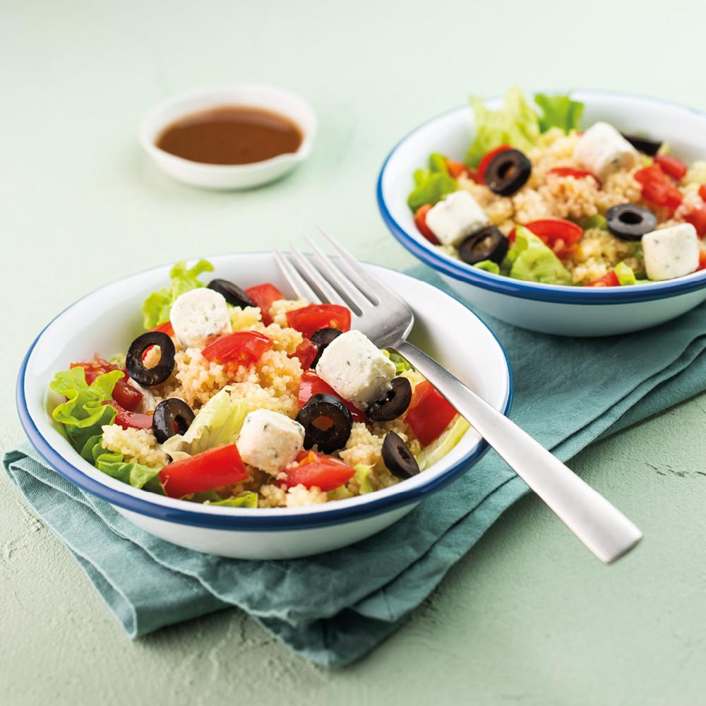 Taboulé de salade et tomates