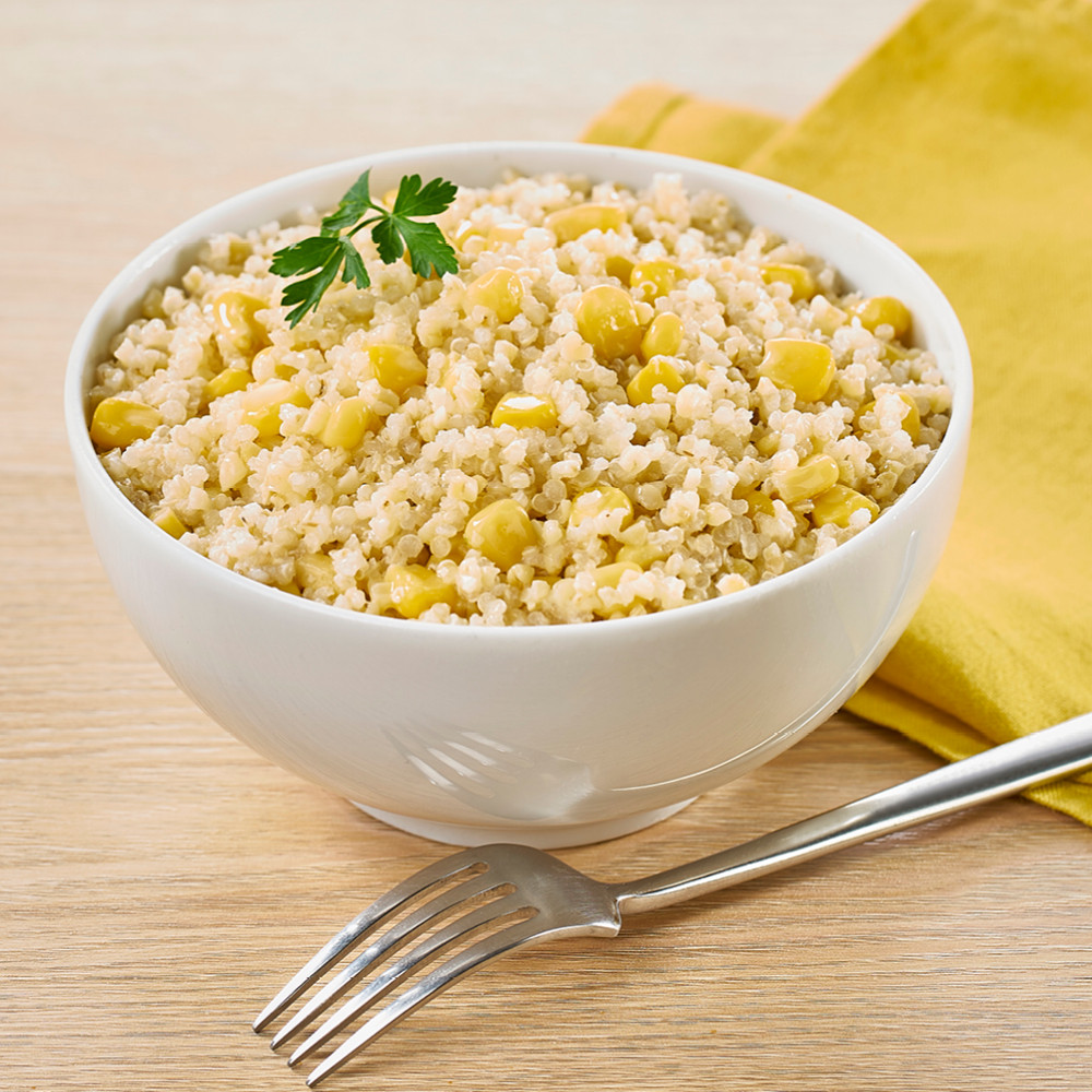 Mélange gourmand boulgour-quinoa-maïs