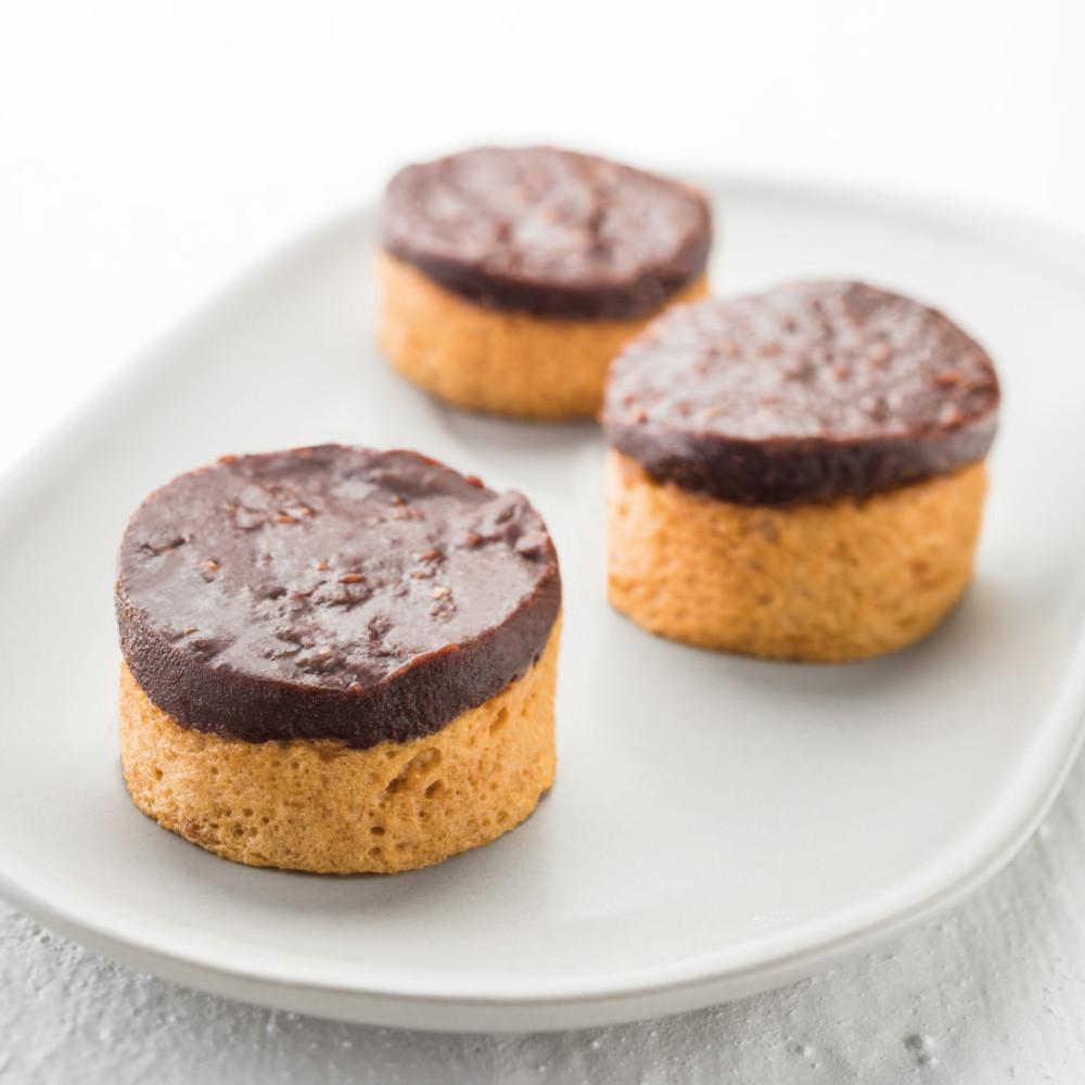 Galettes bretonnes ganache chocolat praliné manger-mains