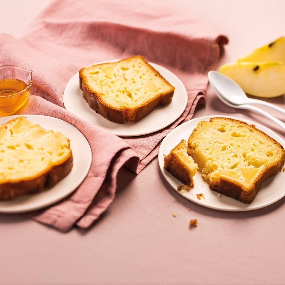 Cake aux pommes et miel