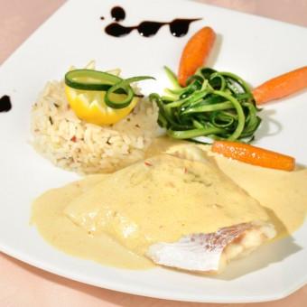 Filet de Cabillaud et son riz gourmand