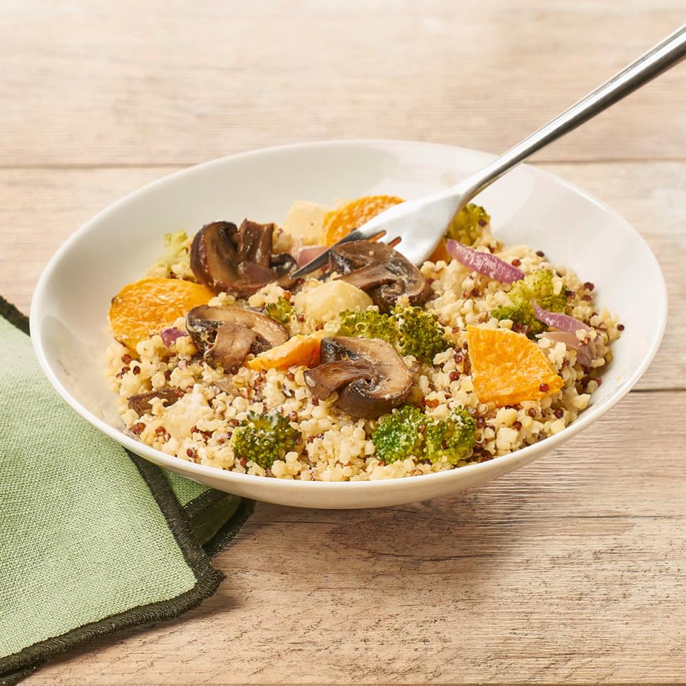 Poêlée de quinoa et légumes d'automne