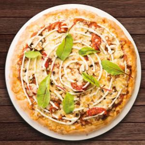 Pizza La Végétarienne