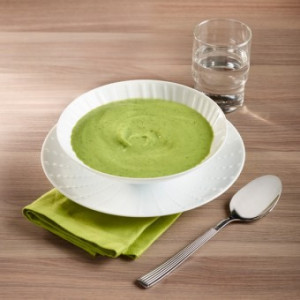 Potage de courgettes