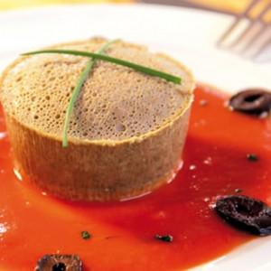 Gâteau de foies de volaille