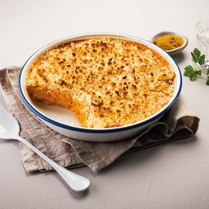 Crumble de patates douces et courges aux épices douces