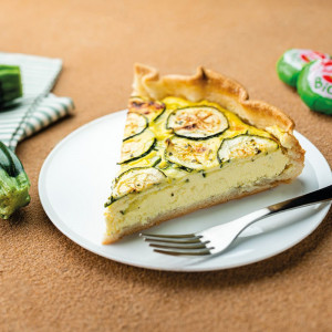 Quiche de courgettes