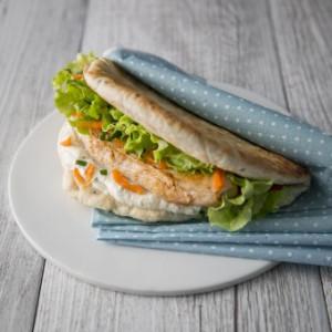 Sandwich escalope