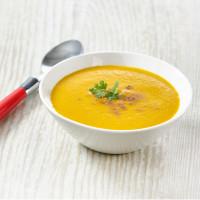 Velouté de céleri et carotte