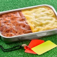Lasagnes carton jaune / carton rouge