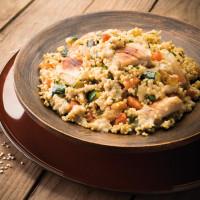 Risotto de quinoa à la volaille