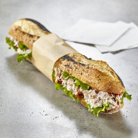 Sandwich au thon et tomates confites