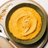 Mousseline de carottes aux épices douces