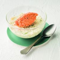Salade coleslaw texture mixée